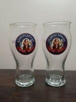 Samuel Adams beer glasses 16 oz Glass Pint set of 2 New