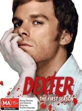 DEXTER (COMPLETE SEASON 1 DVD SET - SEALED + FREE POST)