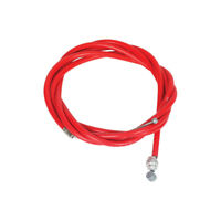 Red Odyssey Slic Kable Brake Wire Slick Cable front or rear BMX Slik