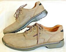 Ecco Men's Bicycle Toe Lace Up Oxford Cocoa Brown Size EU 47 US 13