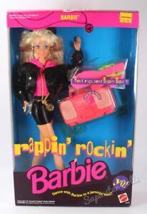 1991 Rappin' Rockin' Barbie Doll