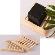 Estuche jabón Estante de madera Ducha Caso jabón Soapbox spensadores MJHKJ