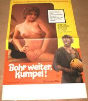 klein,Filmplakat,Plakat, BOHR WEITER KUMPEL,ALENA PENC,E. VOLKMANN,SEX, AKT,
