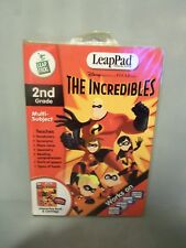LeapFrog LeapPad Leap Pad Educational Books: The Incredibles New!! Never opened