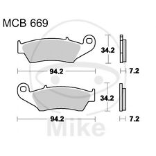 Beta RR 350 Enduro Factory  BJ 2012 -  - Bremsklötze vorn TRW Lucas Standard
