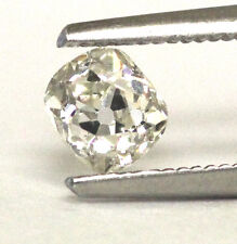 GIA Certified .77ct I1 L Old Mine cut diamond 5.44-4.75x3.81mm vintage estate