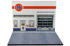 Diorama Station Service 76 Union/76 Union Gas Station - 1/43ème - #43-2-B-B-104