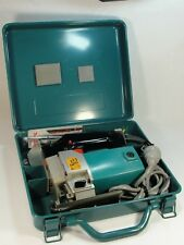 VINTAGE MAKITA MODEL 4301BV VARIABLE SPEED JIG SAW WITH METAL CASE & ACCESSORIES