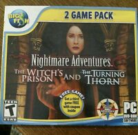 NIGHTMARE ADVENTURES: THE WITCHES PRISON & THE TURNING THORN GAME