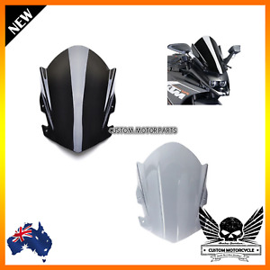 Double Bubble Motorcycle Windshield Windscreen Visor KTM RC125 RC200 RC390 14-18