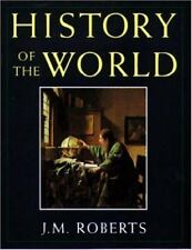 History of the World J M Roberts 1993 Hardcover Dust Jacket Illustrated Maps
