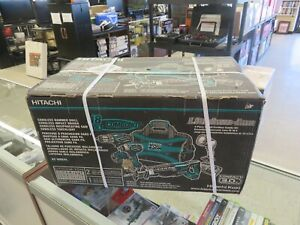 NEW Hitachi 18-Volt 4-Tool Power Combo Kit w/Soft Case 2-Batteries & Charger