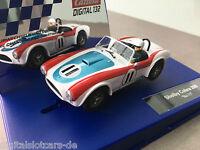 """Carrera Digital 132 30717 Shelby Cobra 289 , """"No. 11"""" LICHT NEU"""