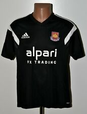 WEST HAM 2014/2015 TRAINING FOOTBALL SHIRT JERSEY ADIDAS SIZE L ADULT
