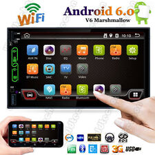 "Quad Core Android 6.0 WIFI 7"" Double 2 DIN Car Radio Stereo MP5 Player GPS 16G"