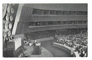 USA -United Nations New York Eighth Session-Dwight.D.Eisenhower / N-345