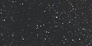 "Kunin-Glitter Felt 9""X12""-Black"