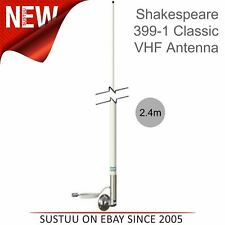 Shakespeare 2.9m 6dB Classic VHF Marine Fibreglass Antenna with 4.5m RG-58 Cable