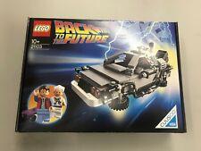 100% Misb Nib New Sealed Lego Cuusoo The DeLorean time machine 21103 Us In Stock