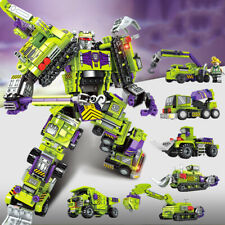 6in1 Transformation Robot Building Blocks Cars Toys Bricks X-mas Gifts 709pcs