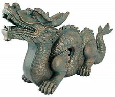 Large Dragon Statue Patio Lawn Garden Pond Medieval Sculpture Decor Out Door New