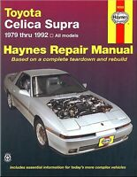 Toyota Celica Supra Repair Manual 1979-1992