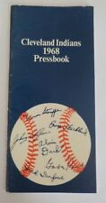 VINTAGE BASEBALL 1968 CLEVELAND INDIANS MEADIA PRESS GUIDE RARE TRIBE