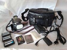Panasonic NV-DX100EG MiniDV Camcorder mit Zubehörpaket, bitte lesen
