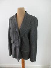 Veste blazer en laine occasion femme Georges Rech grise Taille 44 comme neuve
