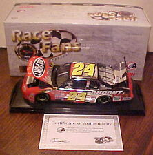 NEW RARE GORGEOUS 2001 JEFF GORDON DUPONT PLATINUM FLAMES RACE FANS 1/24, 1/624