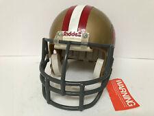 Vintage Riddell Proline San Francisco 49ers Football Helmet w 1980's Facemask
