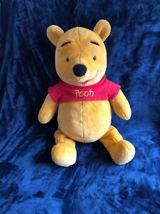 Disney Jumbo I Talk Winnie The Pooh Bear Stuffed Toy Animal Plush Fisher Price