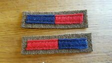 Royal Engineers  Arm of Service Stripes reproduction WWII for Battledress