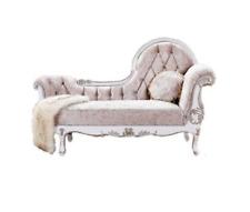Chaiselongue Chesterfield Récamière antik stil Edle Chaise Longue Sofa Liege Neu