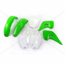 Kit Plastiques UFO Couleur Origine Kawasaki KX 125/250 03-08 Vert/Blanc
