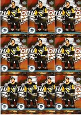 KRIS LETANG 20 CARD LOT 17-18 UPPER DECK HOCKEY #393 PITTSBURGH PENGUINS 2017-18