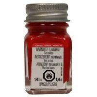 Testors Gloss Red Enamel Paint : 1/4oz Bottle - 1103