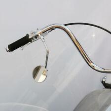 Naked//Chrom Motorrad Spiegel Set M10 Rechtsgewinde+Linksgewindeadap E-geprüft