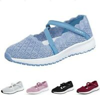 Women's Summer Trainers Mesh Sport Running Sneakers Tennis Breathable Shoes B