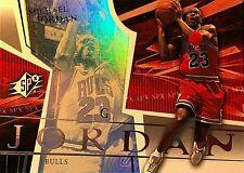 2003 04 UPPER DECK MICHAEL JORDAN CHICAGO BULLS SPx HOLOFOIL #9 BASKETBALL CARD