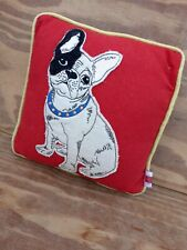 More details for vintage small red pug dog cushion pillow 10