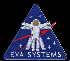 ORIGINAL AB Emblem NASA - EVA SYSTEMS - VITRUVIAN MAN SHUTTLE SPACE PATCH