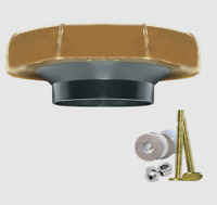 """Fluidmaster Reinforced Wax Ring Kit with Bolts 3"""" & 4"""" Toilet waste lines 7512"""