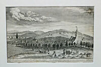 Kupferstich Igensdorf Land Almoß Amt von Christoph Melchior Roth um 1760