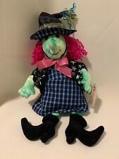 """TY Beanie Babies SCARY The WITCH 11"""" Halloween Decoration Plush MINT CONDITION!"""