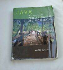 Java: An Introduction to Problem Solving and Programming (7th Edition) pre-owned