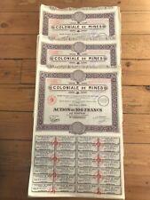 25 x COLONIALE DE MINES for 1€ ?