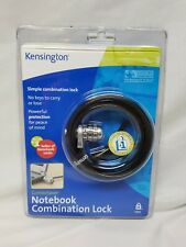 New Sealed Kensington Combination Laptop Monitor Projector Lock.