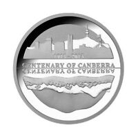 Australia 2013 Centenary of Canberra $5 Five Dollars Pure Silver Proof Coin RAM