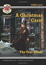 GCSE texto en Inglés Guide - A Christmas Carol por CGP Libros De Bolsillo 9781